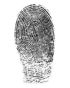 Fingerabdruck Besipielbild Impressum