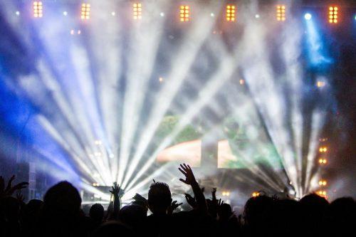 Licht Musik-Musik-Foto-Service